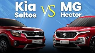 Kia Seltos vs MG Hector Hindi Comparison | कौनसी SUV में है दम?