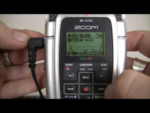 Recording With The Zoom H2