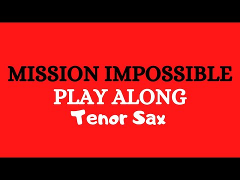 Mission Impossible Sax tenor (Playback)