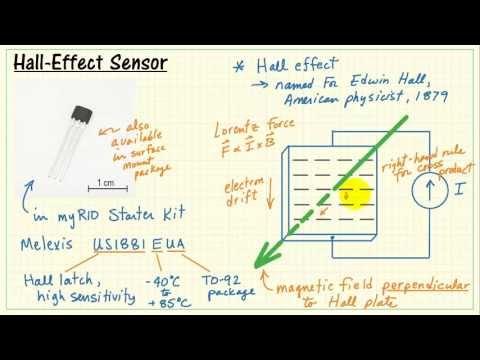 NI myRIO: Hall-effect sensor - YouTube