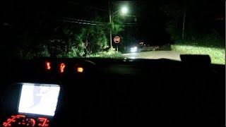 my worse clinton road experience... (phantom trucks chased me)