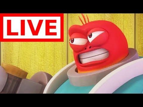 🔴LIVE | LARVA | ROBOT RED | Top Larva Video | Full Episodes | Cartoons For Children | WildBrain