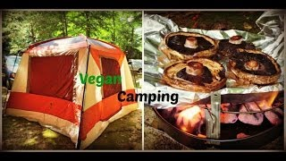 What's for Dinner? | Vegan Camping Meal-How to Vegan Camp