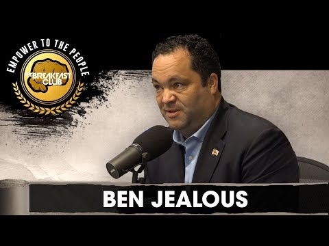 Ben Jealous Talks Run For Governor Of Maryland, NAACP Presidency, Funding Education + More: Subscribe NOW to The Breakfast Club: http://ihe.art/xZ4vAcA  Get MORE of The Breakfast Club: ► WATCH MORE: https://www.youtube.com/user/breakfastclubpowerfm ► LISTEN LIVE: https://TheBreakfastClub.iheart.com/ ► CATCH UP on What You Missed: http://ihe.art/Dx2xSGN ► FOLLOW The Breakfast Club on Instagram: https://www.instagram.com/BreakfastClubAM/ ► FOLLOW The Breakfast Club Twitter: https://twitter.com/BreakfastClubAM ► LIKE The Breakfast Club on Facebook: https://www.facebook.com/BreakfastClubAM/   Get more Power 105:  ► Listen LIVE: http://power1051fm.com/ ► Facebook: https://www.facebook.com/Power1051NY/ ► Twitter: https://twitter.com/power1051/ ► Instagram: https://www.instagram.com/power1051/   The Breakfast Club features celebrity interviews, Charlamagne tha God's Donkey of the Day, Angela Yee's Rumor Reports, DJ Envy's mixes and so much more! Every guest visiting the world's most dangerous morning show is grilled with their signature blend of honesty and humor. The results are the best interviews to be found on radio.  #BreakfastClub #BenJealous