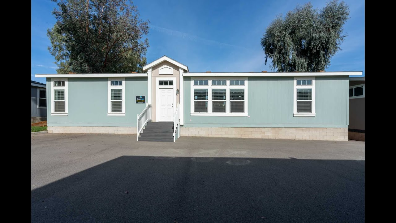 3 Bedroom Double Wide Manufactured Home For Sale In California Ck601f Youtube