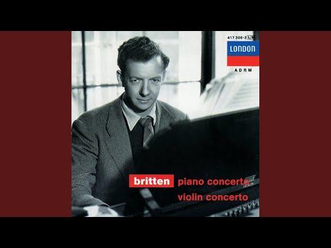 Britten: Piano Concerto, Op.13 - 1. Toccata