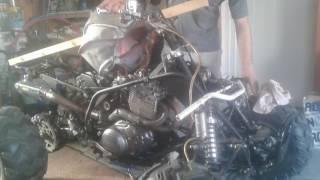 quad moteur 600 xt