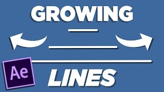 Line Growing Effect - After Effects Tutorial