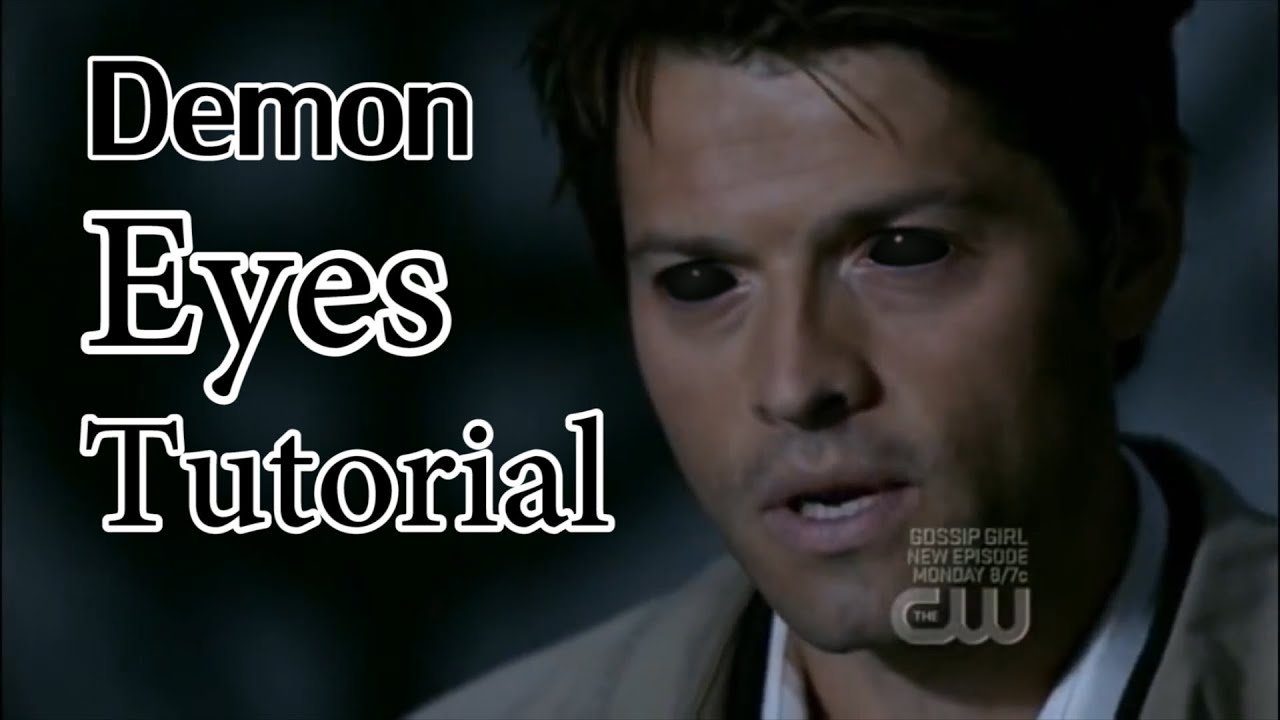 Supernatural Wallpaper Dean Quotes Tutorial Supernatural Demon Eyes Youtube