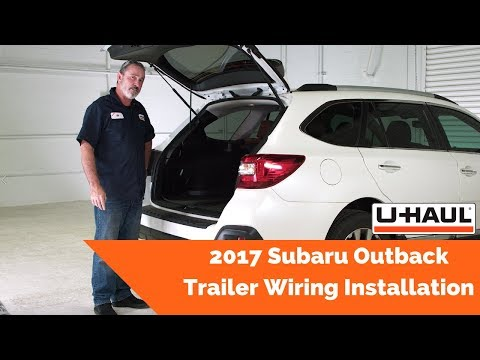 [DIAGRAM_09CH]  2017 Subaru Outback Trailer Wiring Installation - YouTube | 2017 Subaru Outback Trailer Wiring Harness |  | YouTube