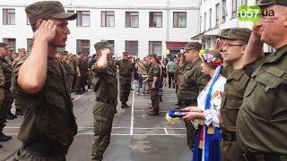 В Харькове прошел выпуск офицеров академии Нацгвардии