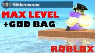 lvl 1003 REACHED! *MAX LEVEL**GOD BAG* | Roblox Booga Booga