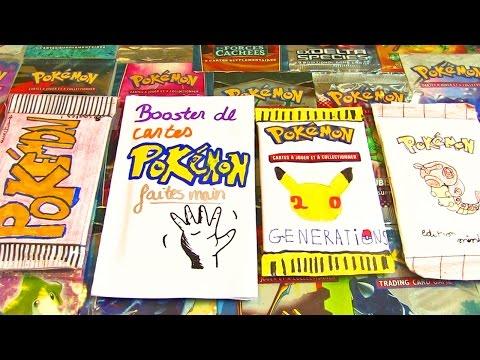 Ouverture de 4 Boosters Pokémon FAIT MAIN Différent ! TROLL ET WTF !!