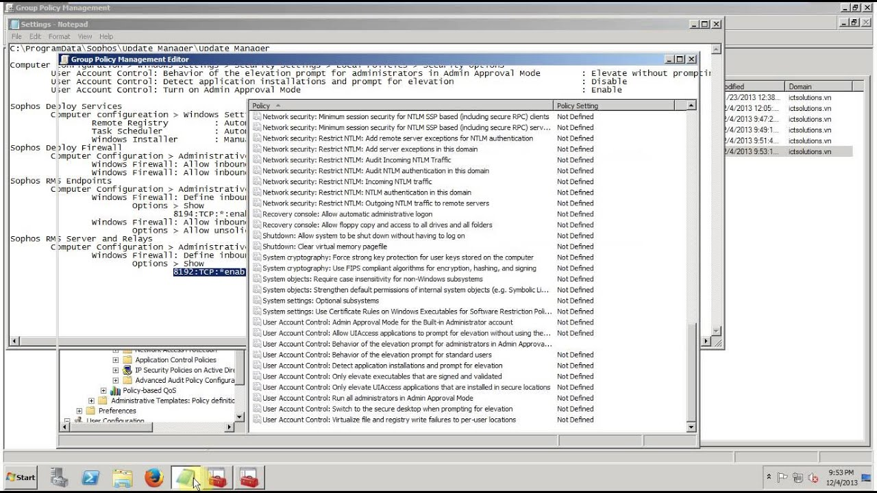 1 Sophos Endpoint Sophos Enterprise Console 5 2 Requirements