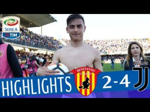 Benevento - Juventus 2-4 - Highlights - Giornata 31 - Serie A TIM 2017/18