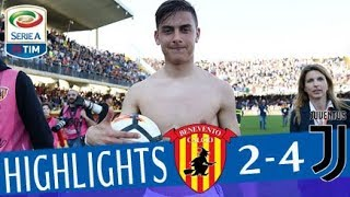 Benevento - Juventus 2-4 - Highlights - Giornata 31 - Serie A TIM 2017/18 streaming