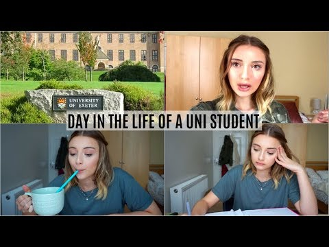 A DAY IN THE LIFE OF A UNIVERSITY STUDENT | UNIVERSITY OF EXETER