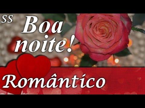 Boa Noite Romântico Com Lindas Rosas Vermelhas Whatsappfacebook