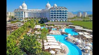 Adalya Elite Lara Hotel 5 Адалия Элит Лара отель Турция Анталия обзор отеля территория
