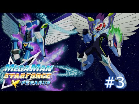 Mega Man Star Force: Pegasus - Part 3: Human Interaction and Sidequesting