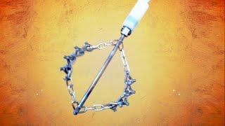 Jeż kominowy Virra - kolczasta głowica łańcuchowa
