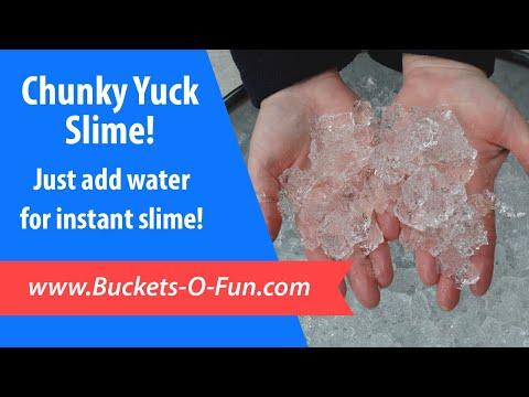 Chunky Yuck Slime