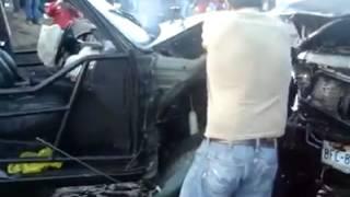 Accidente en La Presa Tijuana