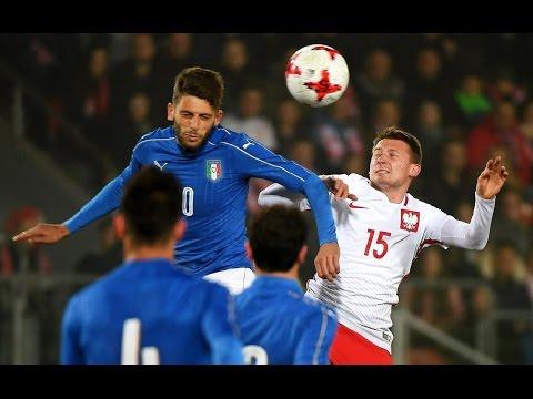 Highlights Under 21: Polonia-Italia 1-2 (23 marzo 2017)