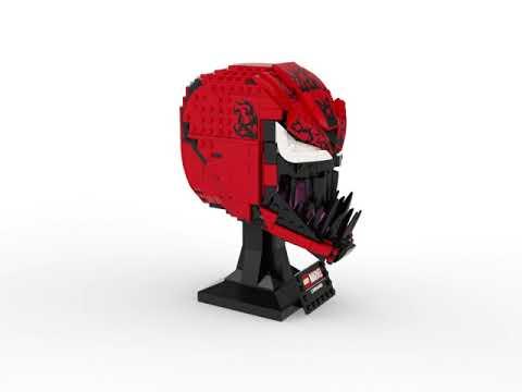 Marvel - LEGO Carnage Helmet - Video