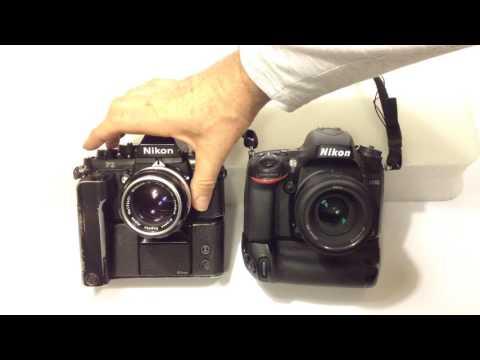 Nikon F3 vs Nikon D610 - continuous drive