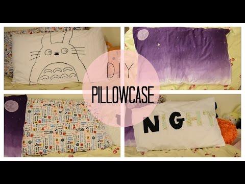 ✂ DIY Custom Pillow Cases