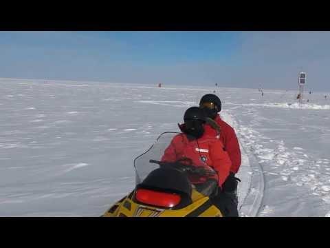 Antarctic trip 2012-2013: SouthPole Station sys5 ski-doo