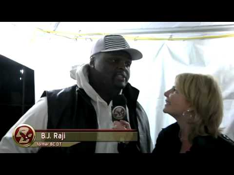 B.J. Raji Interview with BC's Jayme Parker
