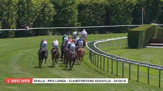 Vidéo de la course PMU PRIX LIANGA