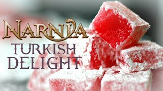 TURKISH DELIGHT from Chronicles of Narnia | FICTION FOOD FRIDAY