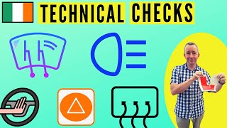 Driving Test Ireland - technical checks inside the car