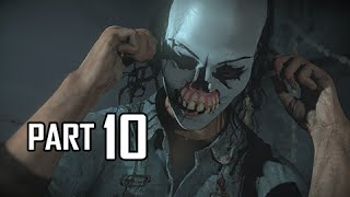 Until Dawn Walkthrough Part 10 - Whose Clowning Around? (PS4 Let's Play Gameplay Commentary)
