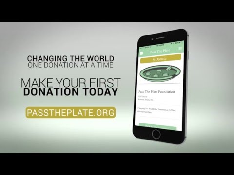 Pass the Plate - Giving Made Easy!