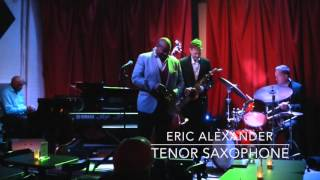 "The Pace Report: ""The Real Thing"" The Eric Alexander Interview wsg Harold Mabern"