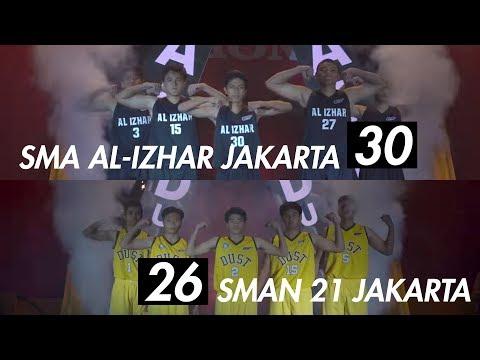 SMA AL-Izhar Jakarta VS SMAN 21 Jakarta - Honda DBL DKI Jakarta Championship Series 2018