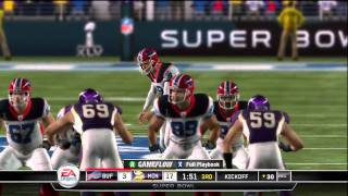 Madden 11: Super Bowl XLV Vikings vs Bills 3rd Quarter