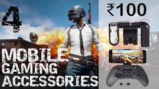 Video TOP 4 Smartphone Gaming Accessories-PUBG-India 2018 download MP3, 3GP, MP4, WEBM, AVI, FLV Agustus 2018