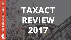 TaxAct Review 2017 - Best For Repeat Customers Only