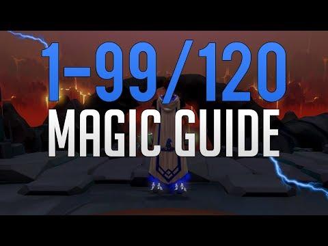 Runescape 3 - 1-99/120 Magic Guide 2019