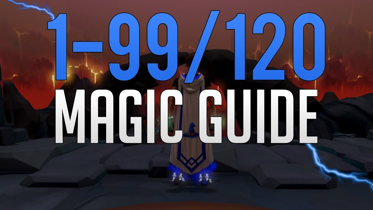 Runescape 3 - 1-99/120 Magic guide 2019