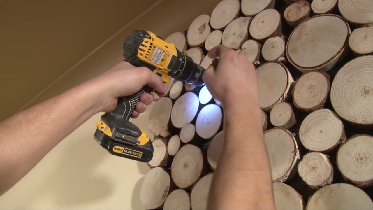 Holzpaneele Pure Wood Echtholz, 200 x 200 mm, Stärke 200 mm, 20 ...