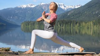 15 Min Feel Good Yoga Flow   Reconnect To That Which Serves You Greatest