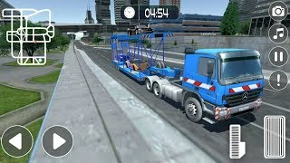 Car Transport Trailer Vehicle Delivery Simulator #2 - Android Gameplay FHD