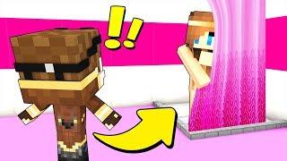 SONO NEL BAGNO DELLE FEMMINE! - Scuola di Minecraft #8