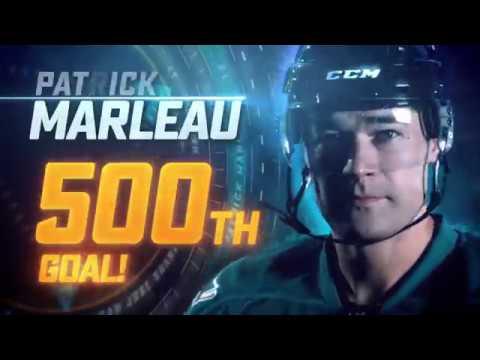 Patrick Marleau 500 Goals Tribute